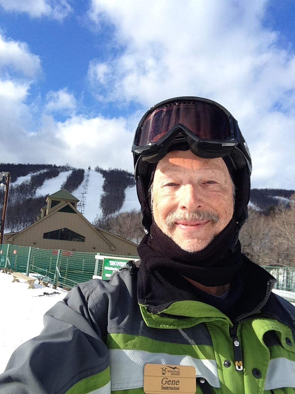 Gene is one of our ski instructors