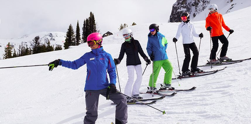 our PSIA certified ski school